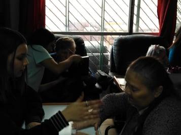 IPLACEX VISITÓ HOGAR DE ADULTOS MAYORES EN PUENTE ALTO
