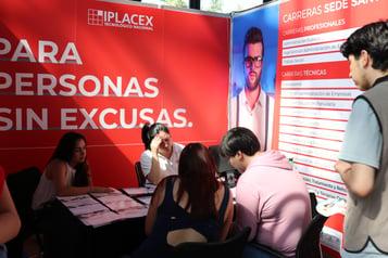 IPLACEX PRESENTE EN LA FERIAL DEL POSTULANTE 2018