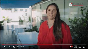 Testimonio IPLACEX: Carolina Jerez, titulada de Administración Pública.